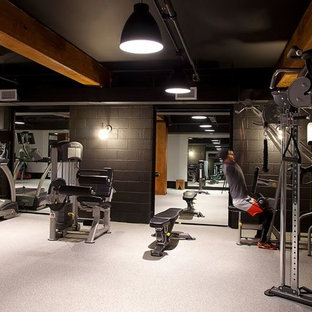75 home gym design ideas  stylish home gym remodeling