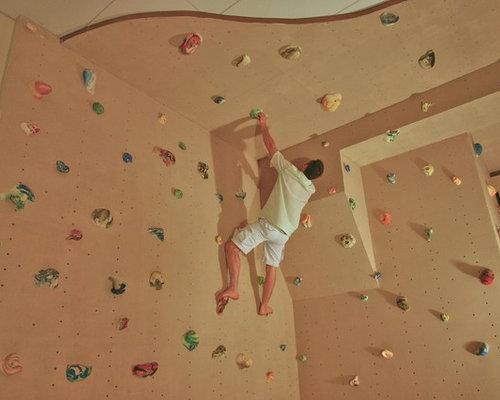 Climbing Wall Design Company : Home climbing wall design ideas renovations photos