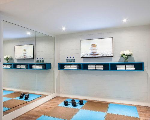 Salle de sport photos et id es d co de salles de sport for Classique ideas interior designs inc