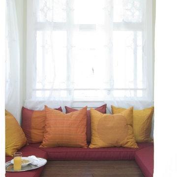Alison Designs Green Project Yoga Room