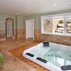 Traditional Home Gym by Joe Carrick Design - Custom Home Design