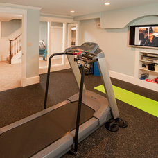 Traditional Home Gym by Blackdog Design Build Remodel