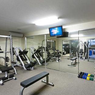 75 most popular modern home gym design ideas  stylish