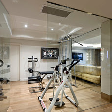 Contemporary Home Gym by Zorzi