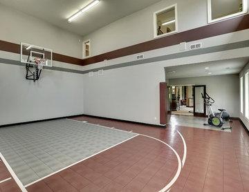Architectural Designs Exclusive #houseplan 73356HS: Big Daddy Sport Court