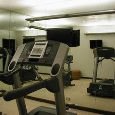 Modern Home Gym by 186 Lighting Design Group - Gregg Mackell