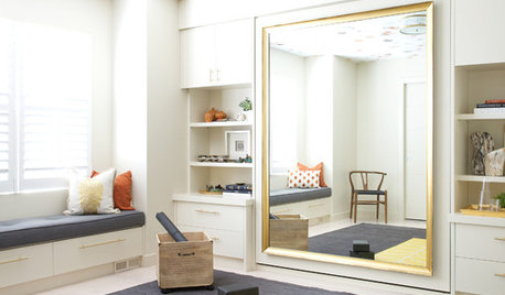 Room of the Day: What's Behind the Mirror?