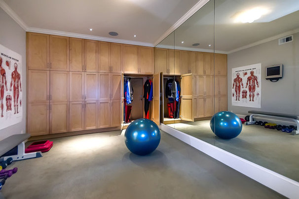 Contemporary Home Gym by mark pinkerton  - vi360 photography