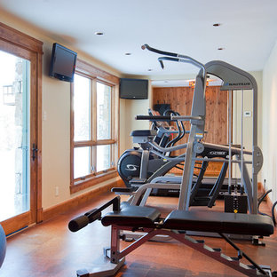 75 beautiful cork floor home gym pictures  ideas  august