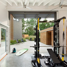 Contemporary Home Gym by McCoubrey/Overholser, Inc.