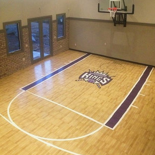 Awesome SnapSports® Indoor Home Court - Basketball
