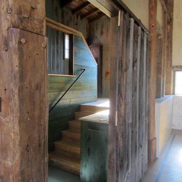 Barn renovation in Salem, NY