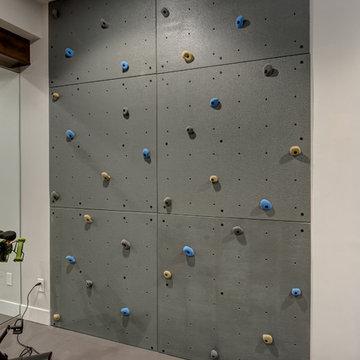 Basement Climbing Wall