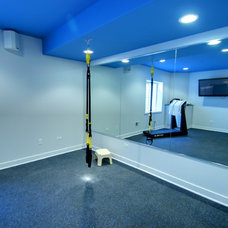 Traditional Home Gym by RS2 Architects