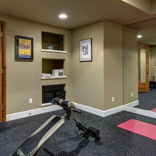 Basement Gym and Sauna