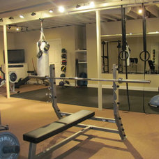 Contemporary Home Gym by Collier Builders