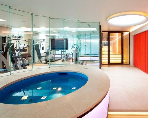 Indoor Hot Tub | Houzz