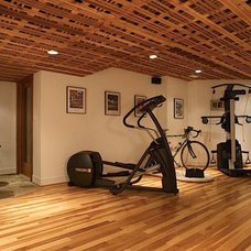 Contemporary Home Gym by Doylestown Building & Remodeling Company