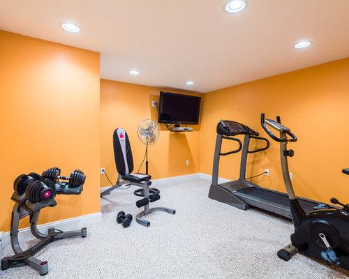 Budget Home Gym Design Ideas Pictures Remodel Amp Decor