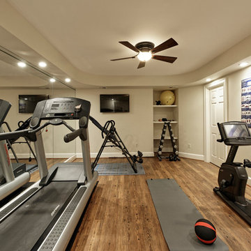 Basement Remodel in McLean Perfect for Entertaining