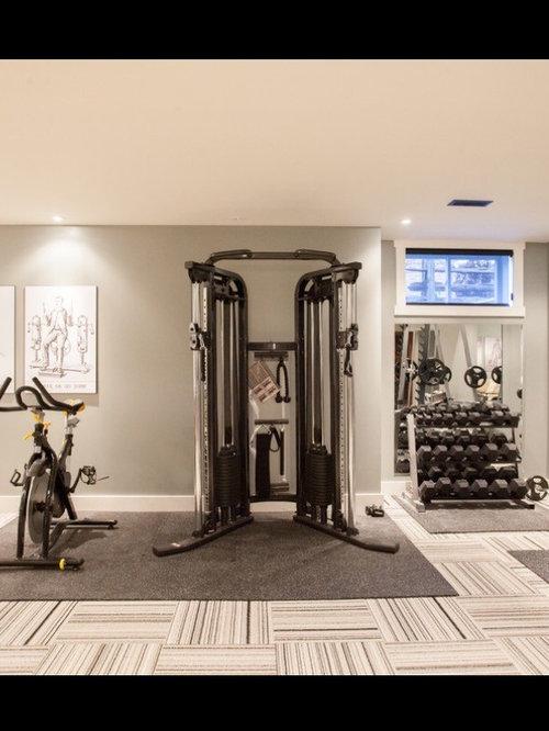 Best Modern Home Weight Room Design Ideas & Remodel ...