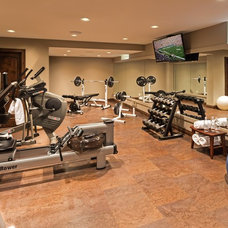Traditional Home Gym by Renaissance Design & Renovation