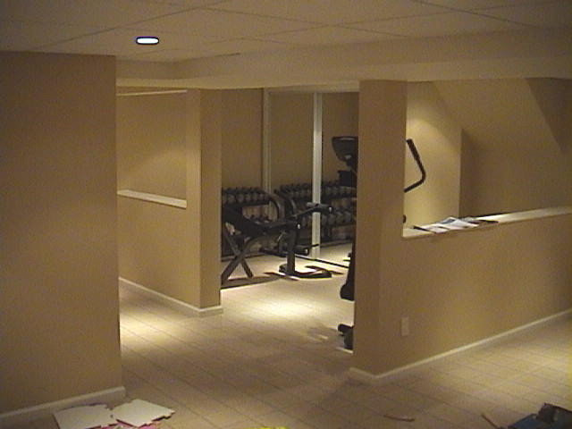 Traditional Home Gym by 3-D Contracting Inc.