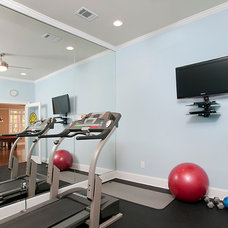 Traditional Home Gym by Raymac Remodeling