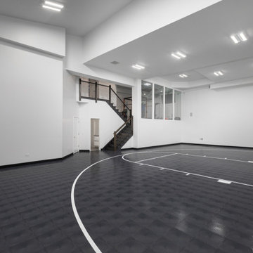 Basketball Half Court - Full Regulation