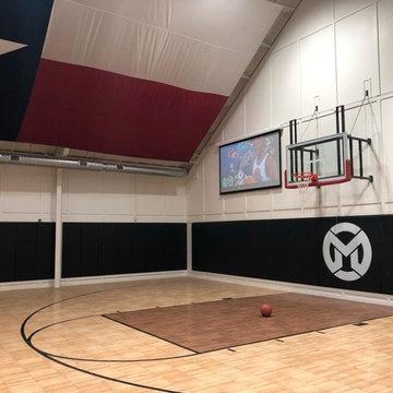 Basketball Court Wall Pads