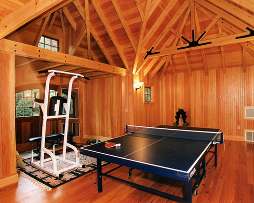 Small rustic home gym design ideas pictures remodel decor