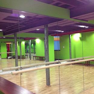 75 most popular ballet barre home gym design ideas for