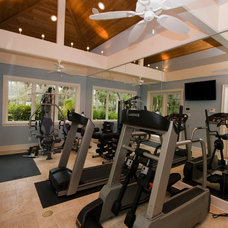 Traditional Home Gym by J. S. Perry & Co., Inc.