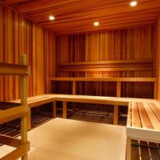Contemporary Home Gym by Inviniti Cellar Design