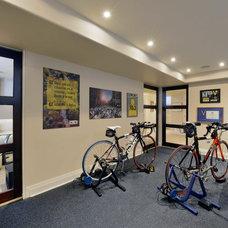 Contemporary Home Gym by Studio S Interiors