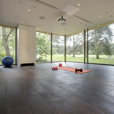 Contemporary Home Gym by 3rdSpace