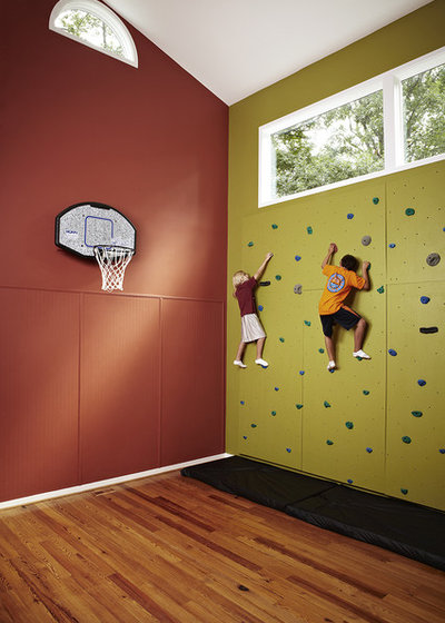 Transitional Home Gym by Designing Solutions