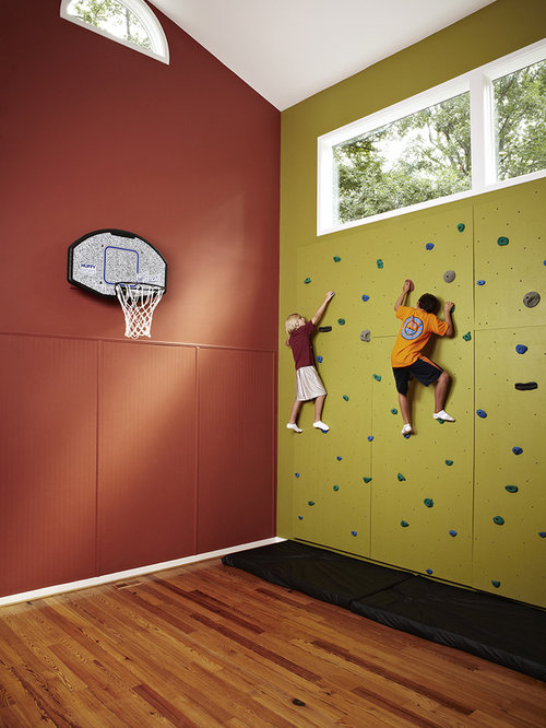 Rock Climbing Wall | Houzz