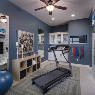 75 most popular phoenix home gym design ideas for 2019
