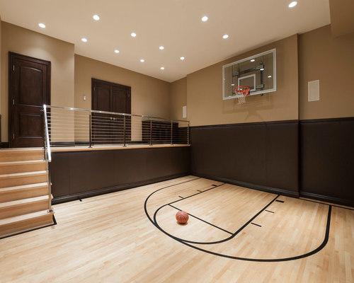 Indoor Basketball Court | Houzz
