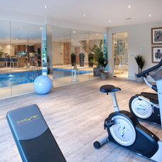 Traditional Home Gym by Alexander James Interiors