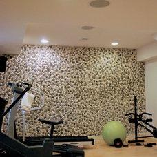 Contemporary Home Gym by Maniscalco