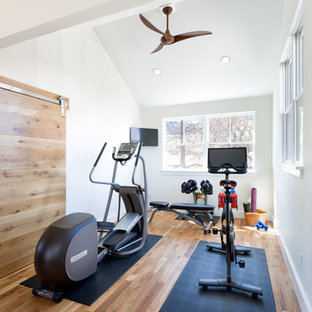 75 beautiful home gym pictures  ideas  february 2021