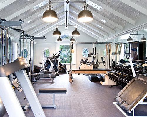 Luxury Home Weight Room Design Ideas Renovations Photos