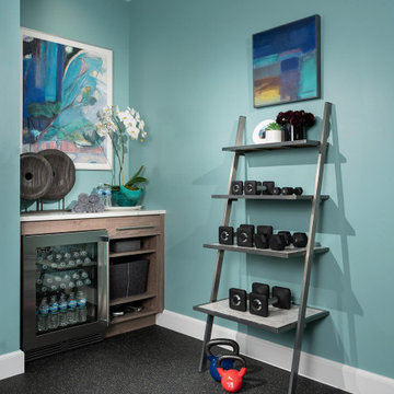 Bright Energized Home Gym