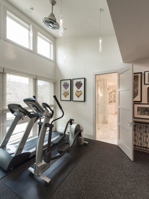Interior Design Ideas For Home Gym: Best Home Gym Design Ideas & Remodel Pictures