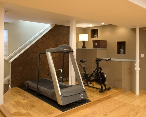 Treadmill hidden home design ideas pictures remodel and
