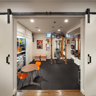 75 most popular eclectic home gym design ideas for 2019