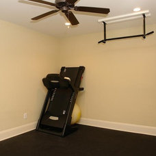 Traditional Home Gym by Design Evolutions