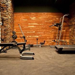 home gym  houzz